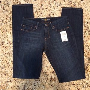 Lucky Brand Sweet Jean Straight Leg 0/25 Regular
